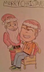 94 meets Santa!