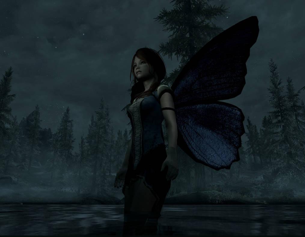 Skyrim - Fairy Girl by linkpup on DeviantArt