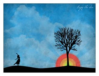 Enjoy The Sun. by PhysicalMagic