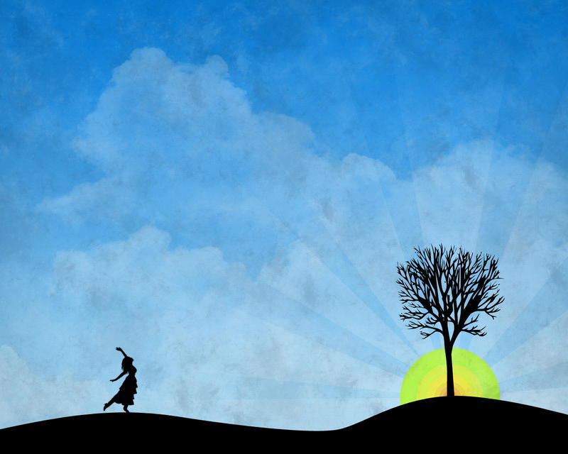 Enjoy The Sun Wallpaper. by PhysicalMagic