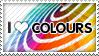 I Love Colours.