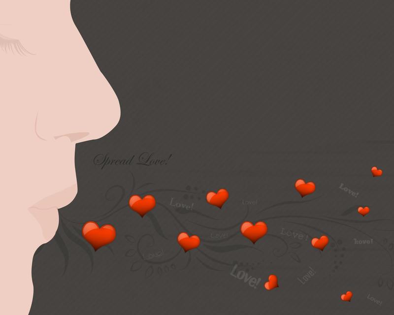 Spread Love. by PhysicalMagic