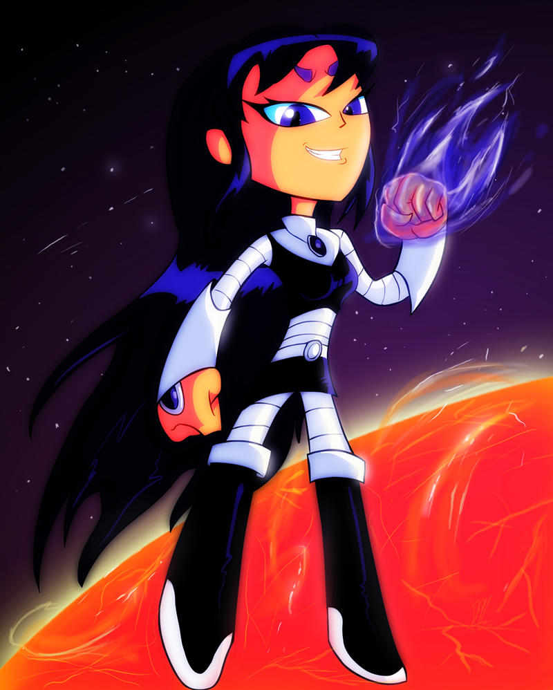 Have hit Teen titans starfire black fire