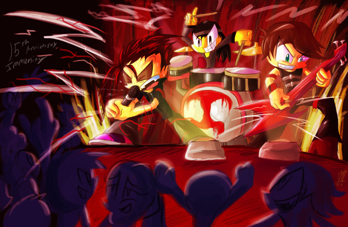 ANNIVERSARY PARTY : ROCK YOUR SOUL by Dante91 on DeviantArt