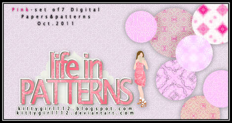 New pink PATTERNS