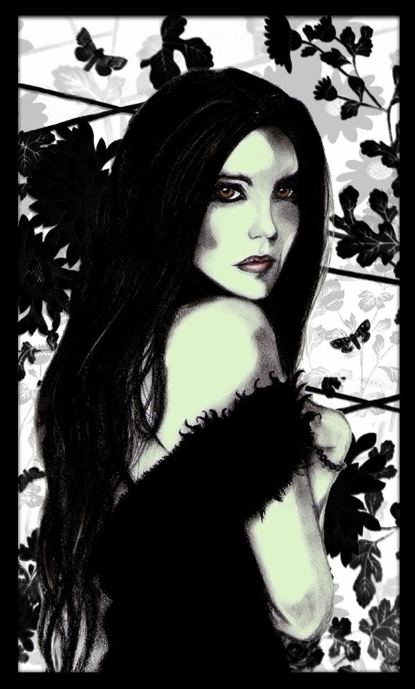 beautiful witch by spectralfairy on deviantart