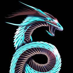 Sea Metal Dragon