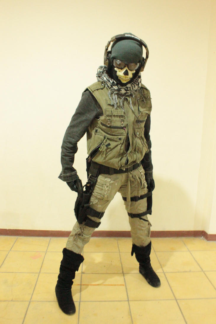 Ghost Mw2 Cosplay - More info