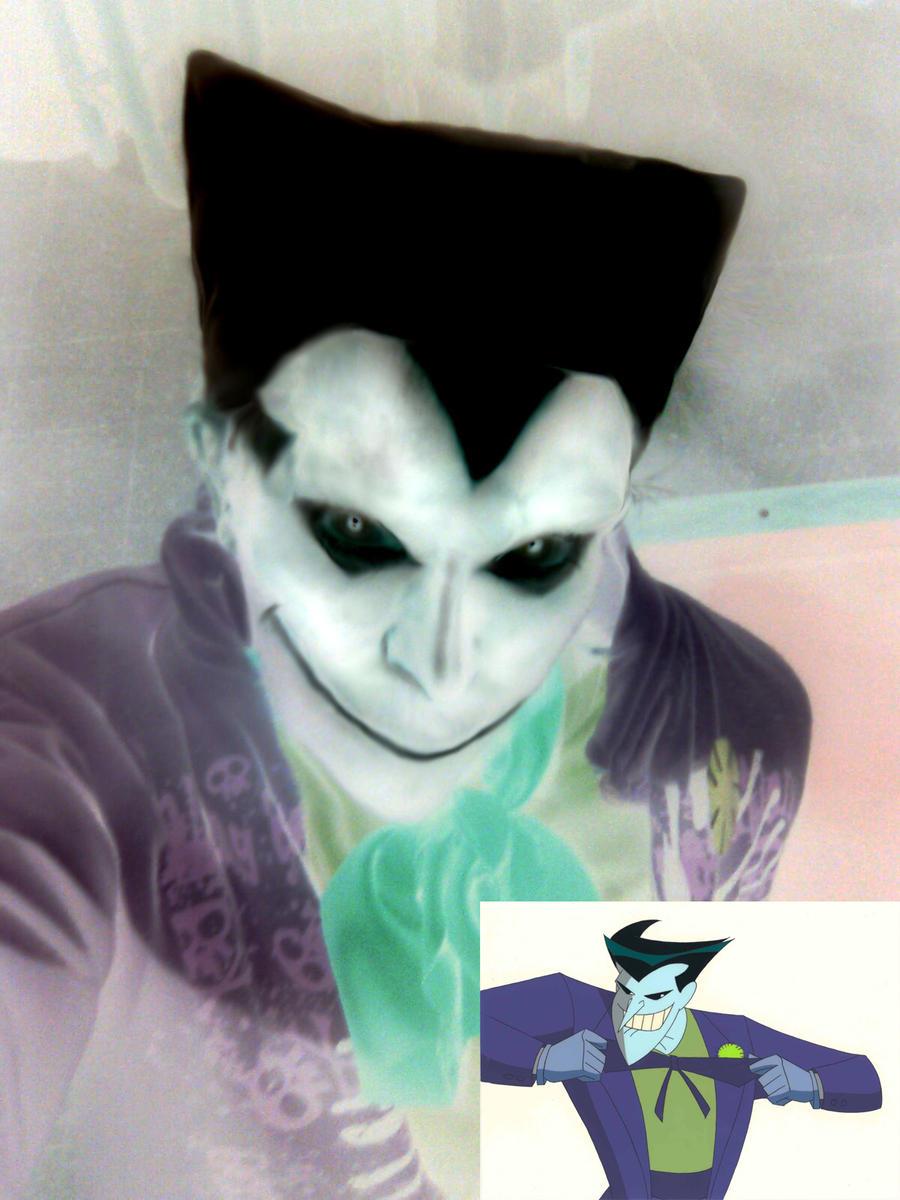 (stupid) Joker cosplay By Grecia Villar by PrincessOfCrime
