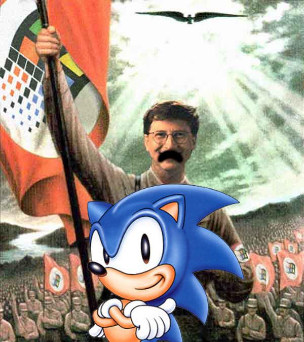Bill Gates Meets Sonic