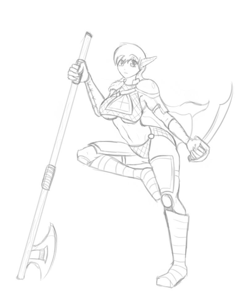 Elf Warrior!