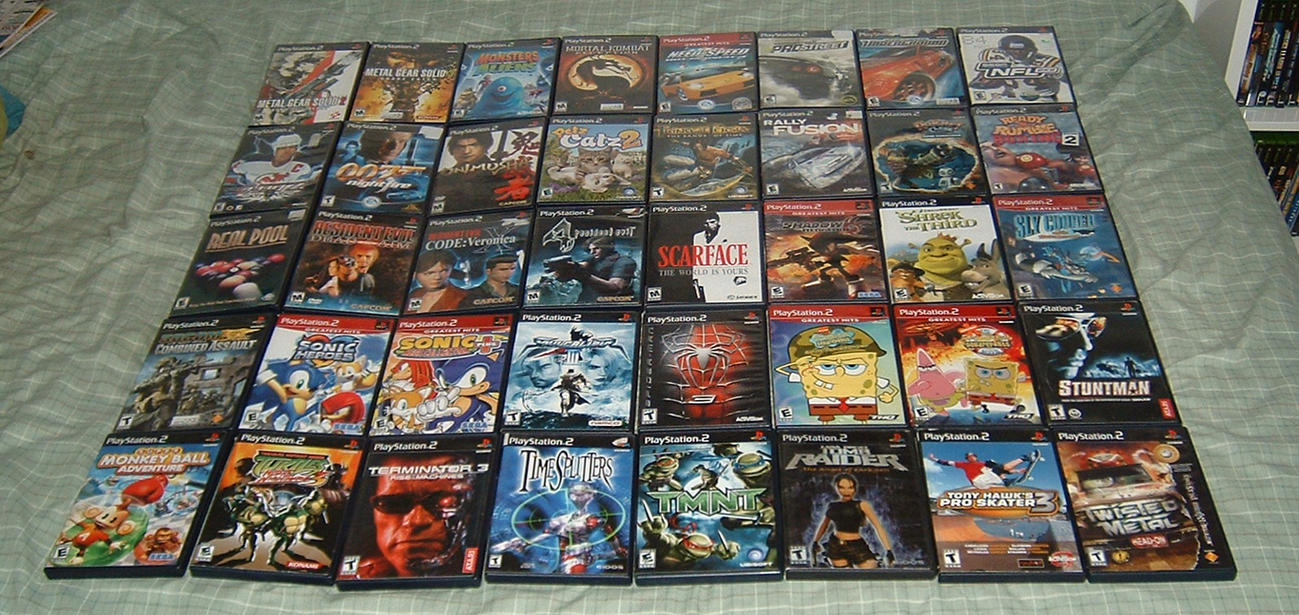 my ps2 collection part 2 by tinythegiant on deviantart Sony PlayStation 2 ps2 game manual read