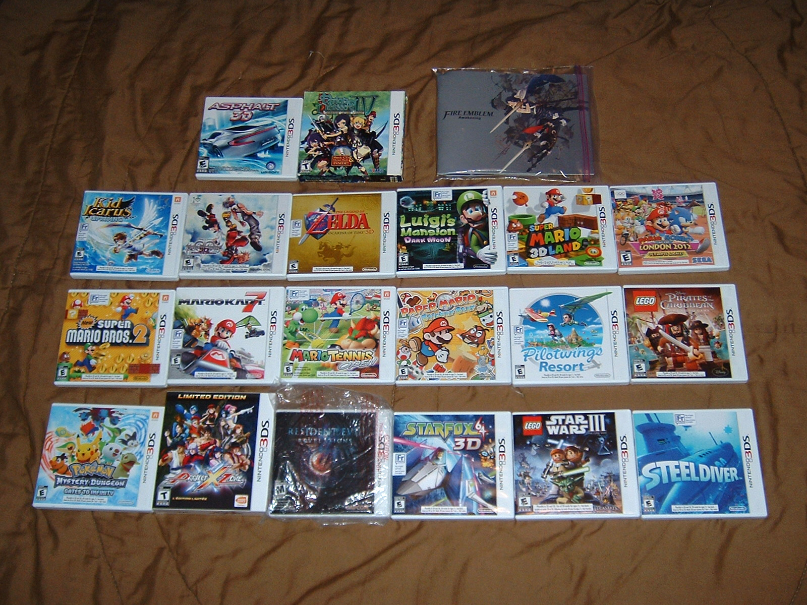 Nintendo 3DS Game Collection by TinytheGiant on DeviantArt