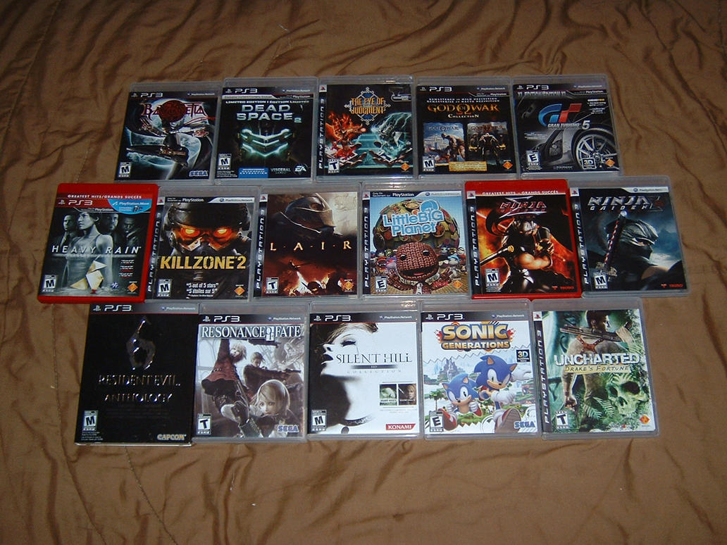 Playstation 3 Ps3 Game : Sony playstation game collection by tinythegiant on