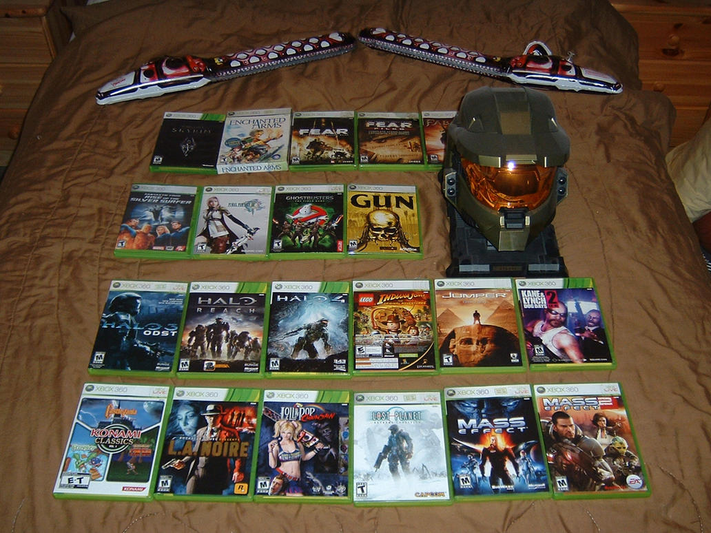 Xbox 360 Games Collection Microsoft Xbox ...