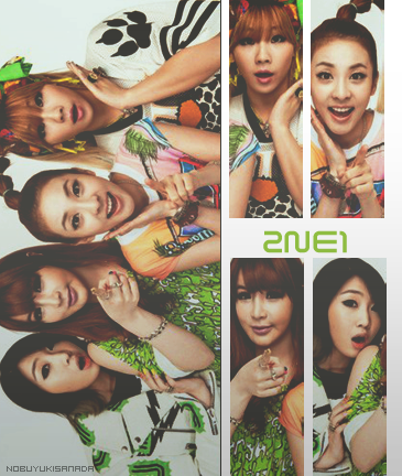 2NE1- by Nobuyuki7