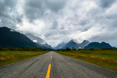 The Road to Pitt Lake by dashakern