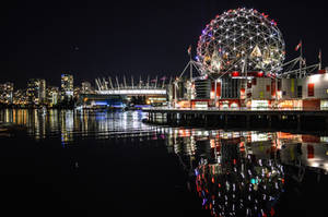 Vancouver at Night by dashakern