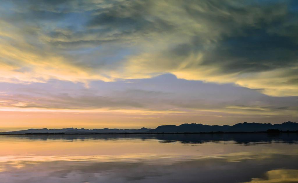 Yellow clouds - blue sadness by dashakern