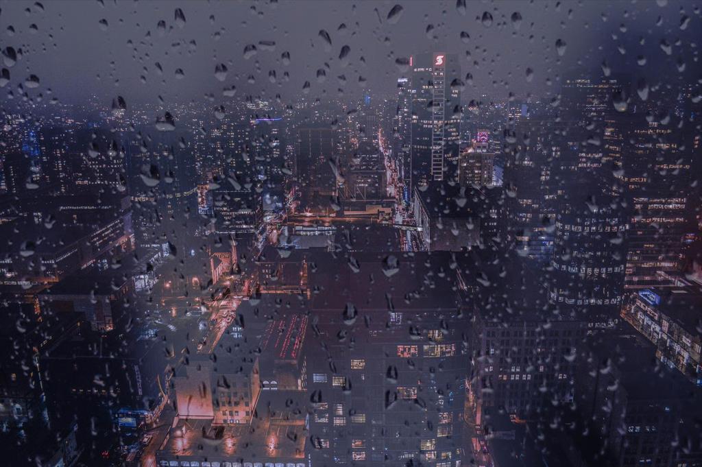 City of rain by dashakern