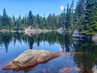 Cabin Lake by dashakern