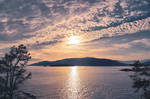 Sunset sweet silence
