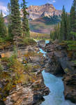 Athabasca River by dashakern