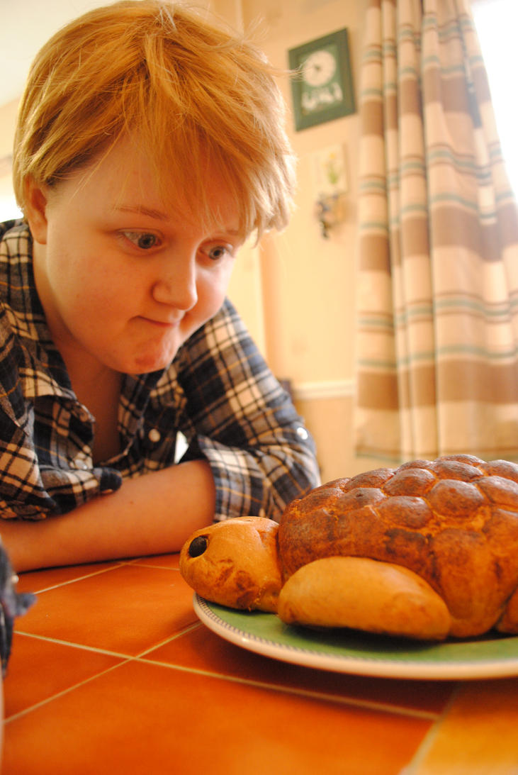 Bread pondering by simplyfrank
