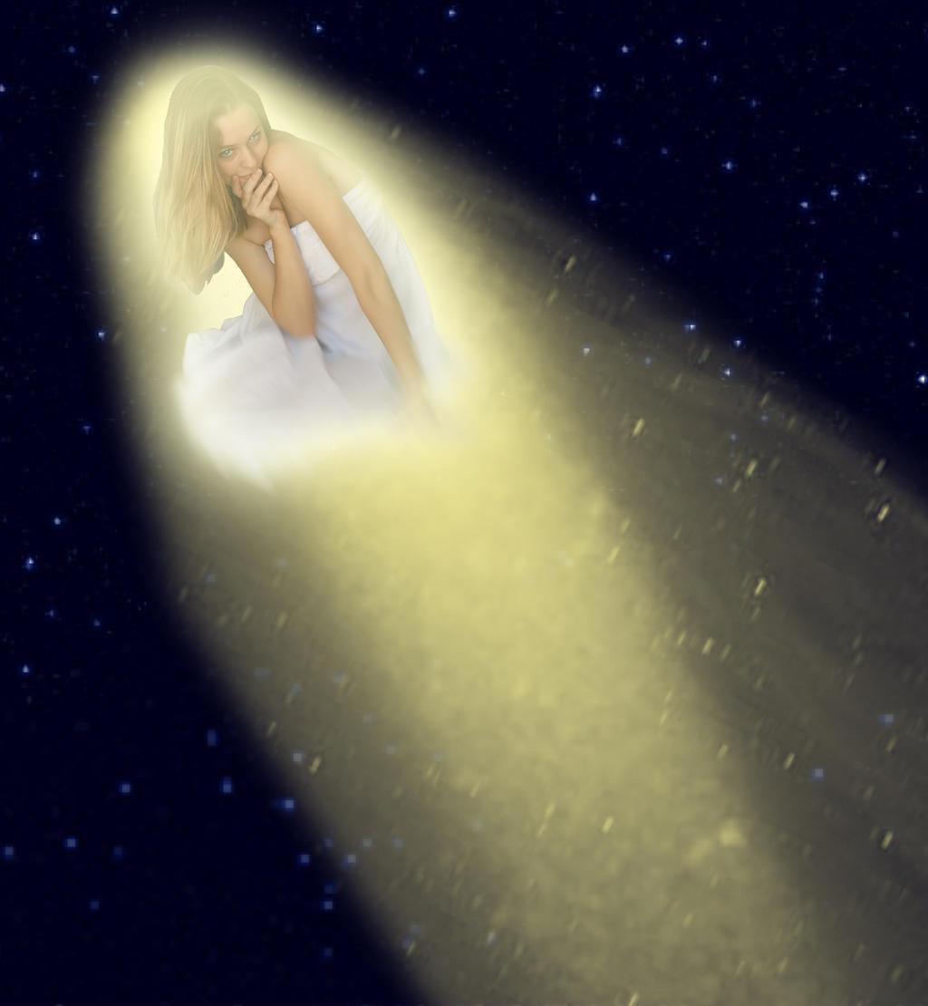 Halley S Comet By Crimsonreach On Deviantart Halley S Comet By | HD ...
