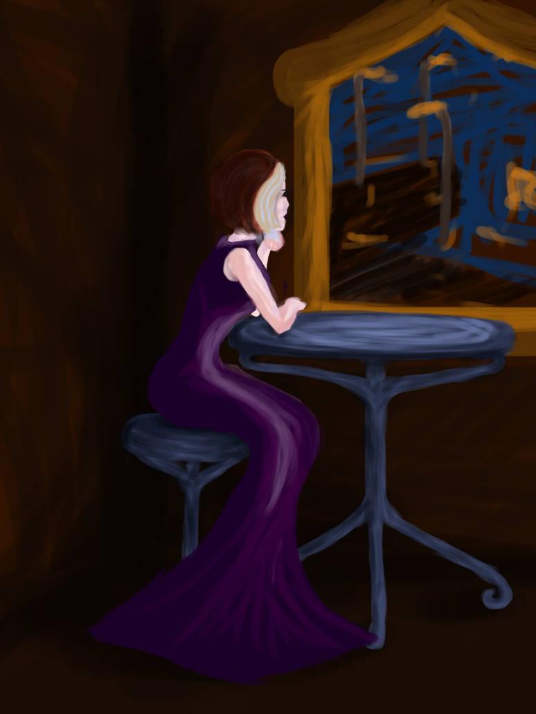 Evening Contemplation by CrimsonReach