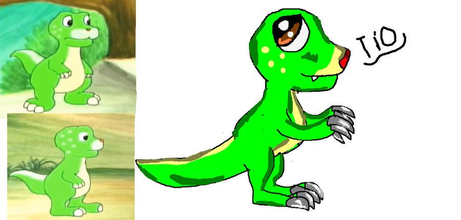 Dinosaur Adventure:Tio by Me-MowTheCat