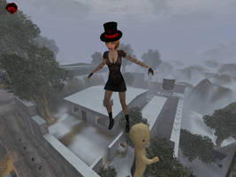 Flying on SCP in Postal 2 MP by KeshaFilm
