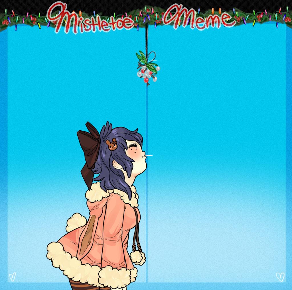 Mistletoe Meme: Amy