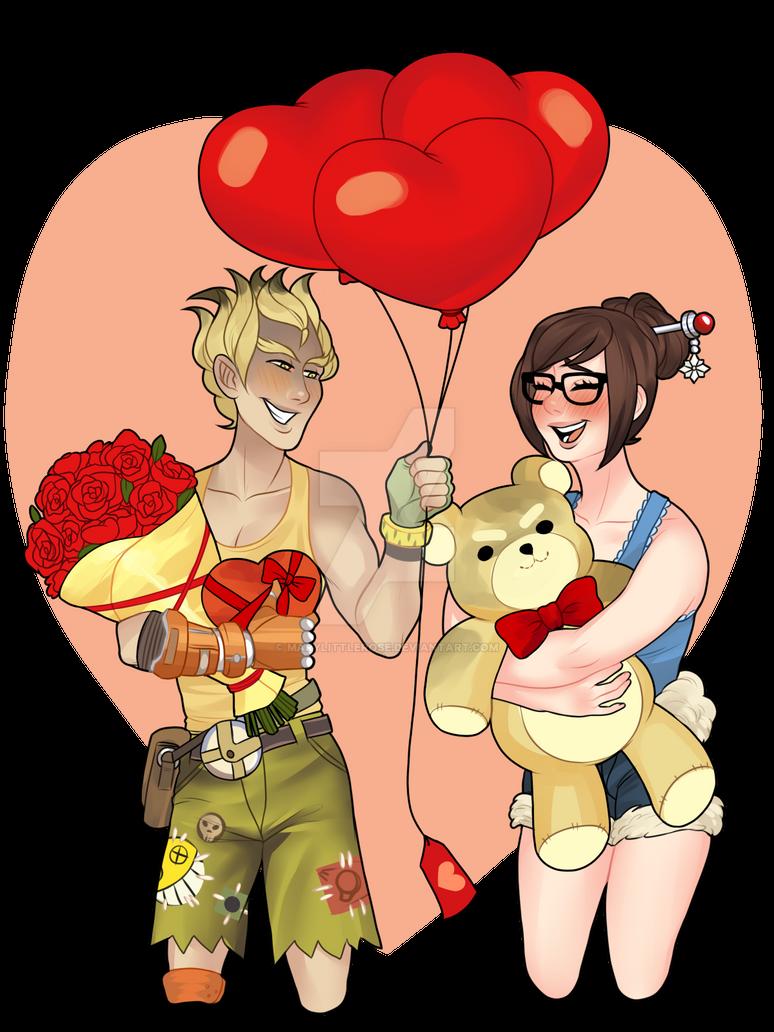 Valentine S Day Ych Karumichi By Marylittlerose On Deviantart