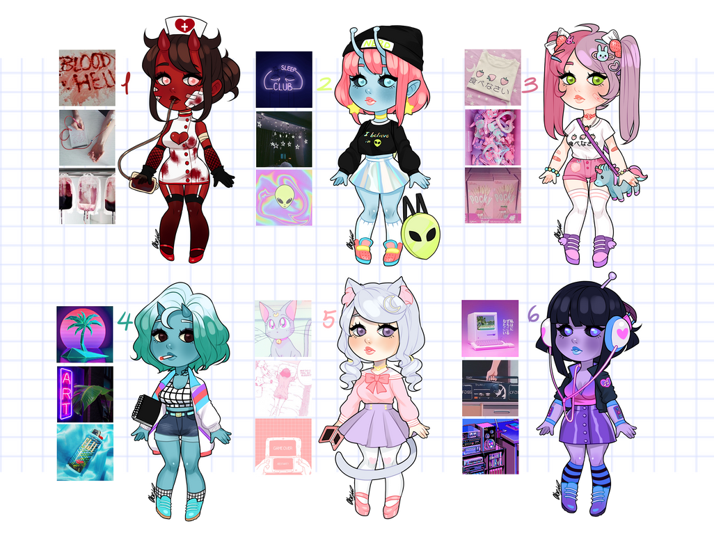 Aesthetic Adopts: Last one for $15! CUSTOMS OPEN