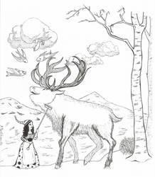 Swedish fairy tale, Inktober 1