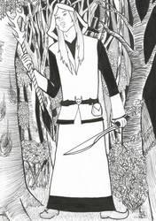 Wizard Elf, Inktober 4
