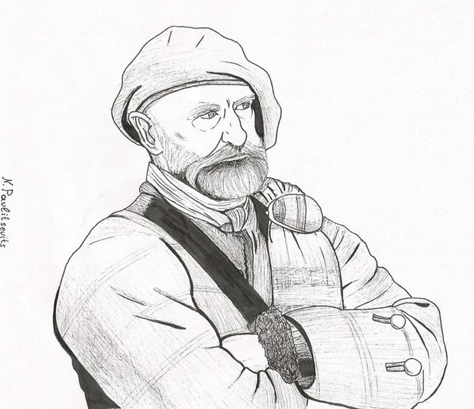 Dougal MacKenzie, Outlander, Inktober 7 by Natasha-Pavlitsevits