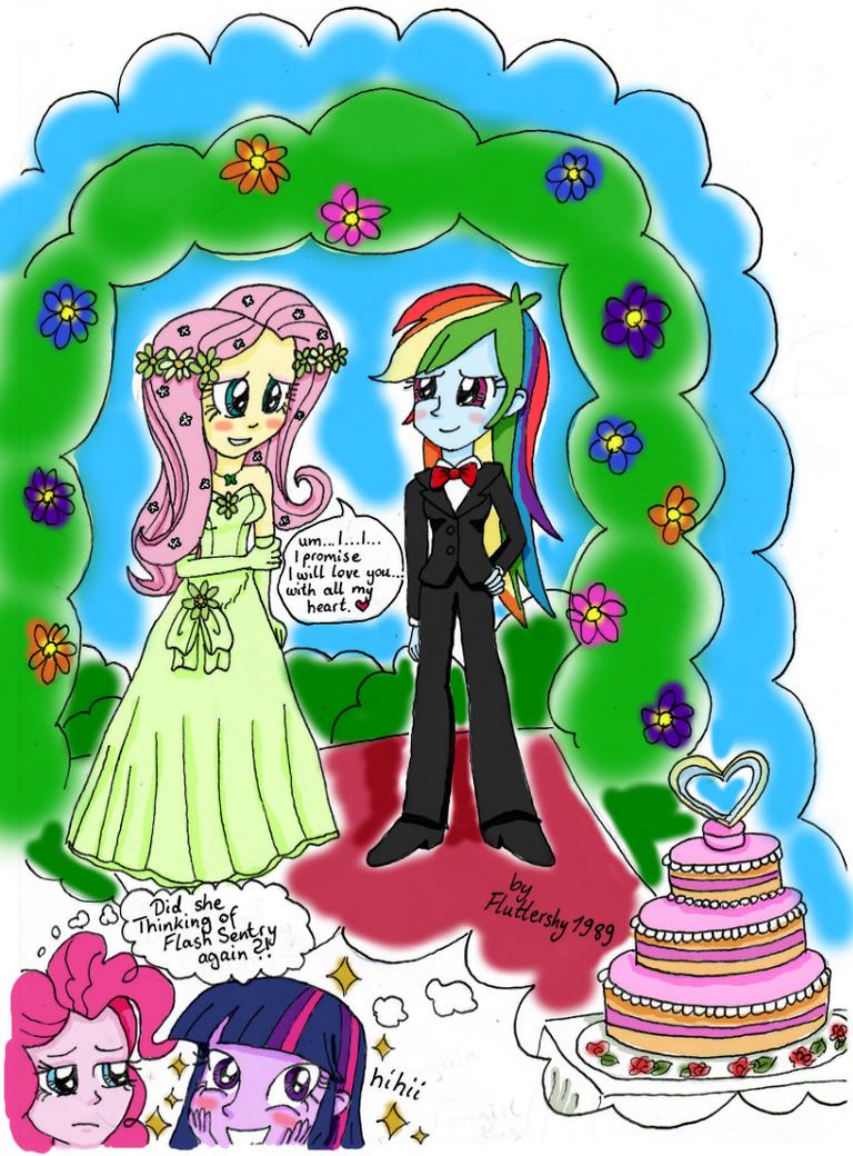 Imagine: a FlutterDash Dream Wedding [FlutterDash] by Fluttershy1989