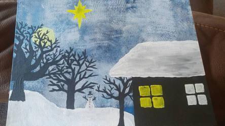 Cold Winter Nights  by danisaur2015