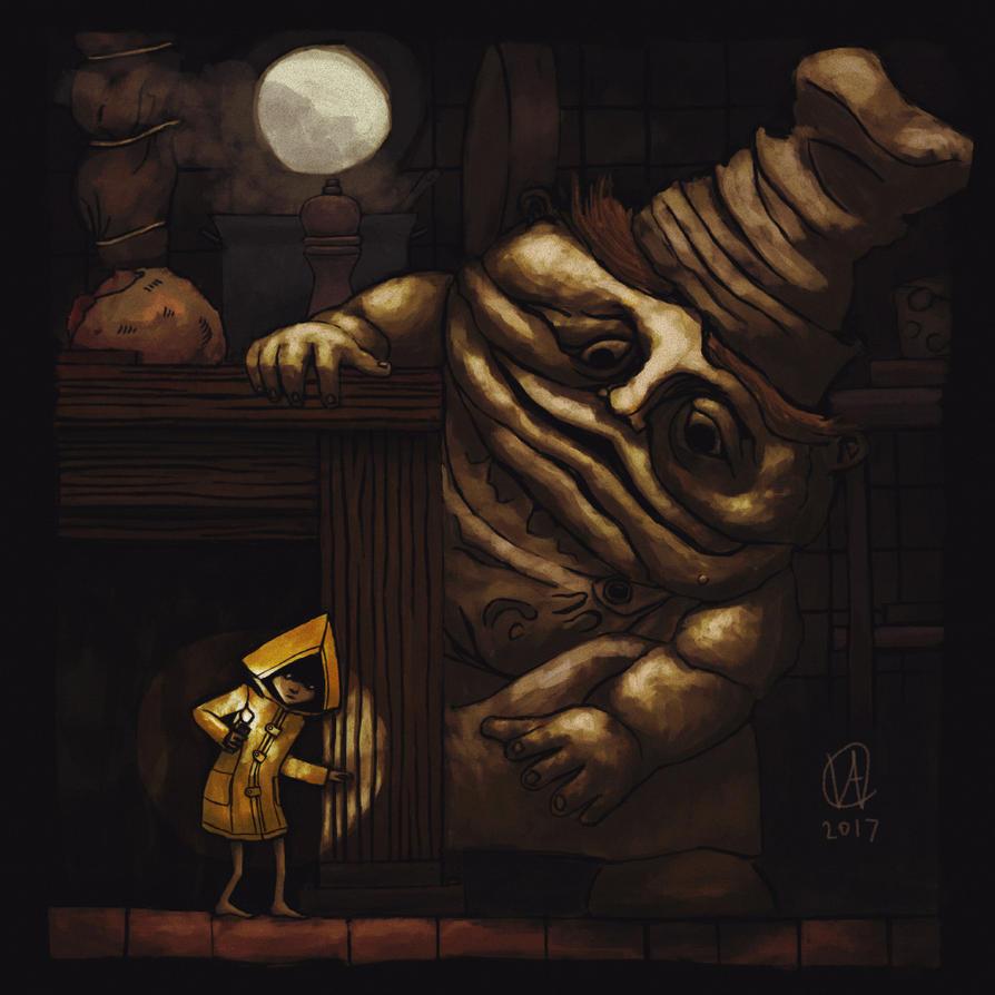 Little Nightmares Fanart by osvaldoVSARTS