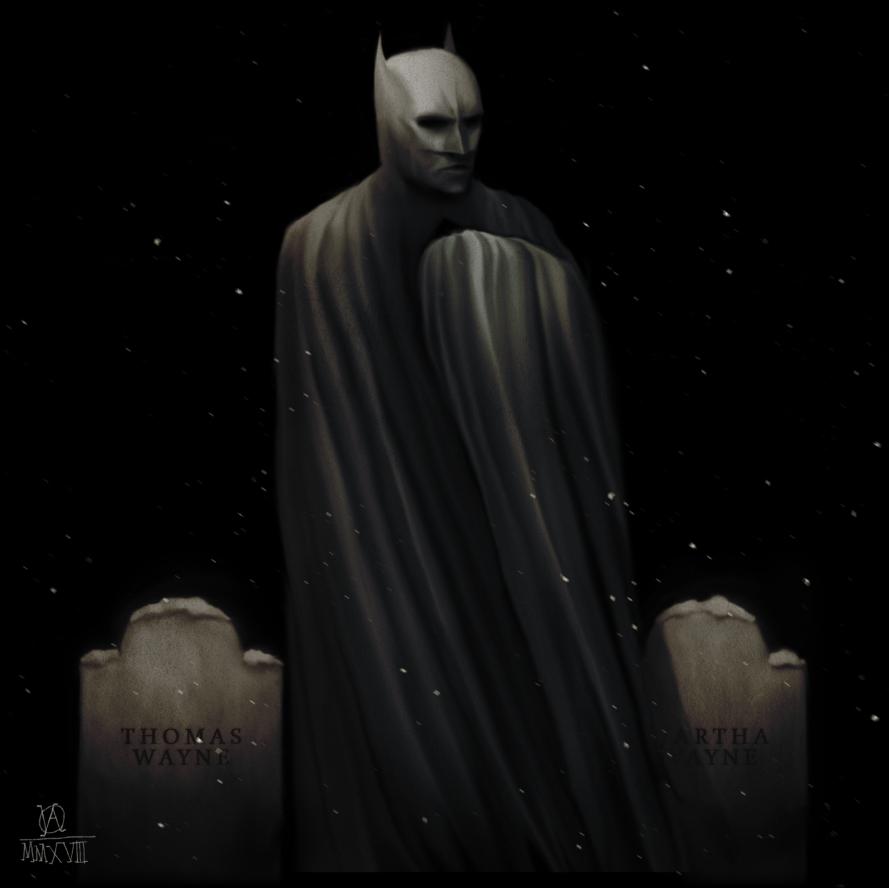 Batman by osvaldoVSARTS