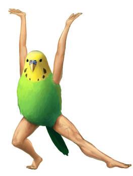 Bird with Arms (and non bird legs)
