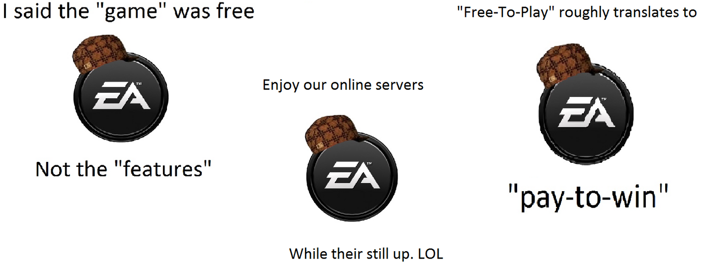 The EA hate thread.  - Page 2 Meme___scumbag_ea_by_reddock12-d6ao81b