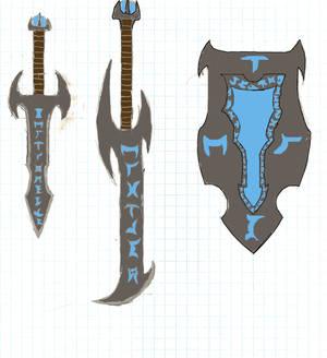 Rune Combat gear