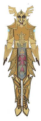 Zelda's plate armor