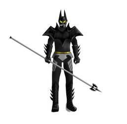 Kamen Rider-Dark Knight- Poleaxe