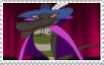The Great Fusilli fan stamp by Villainous-Sp00k
