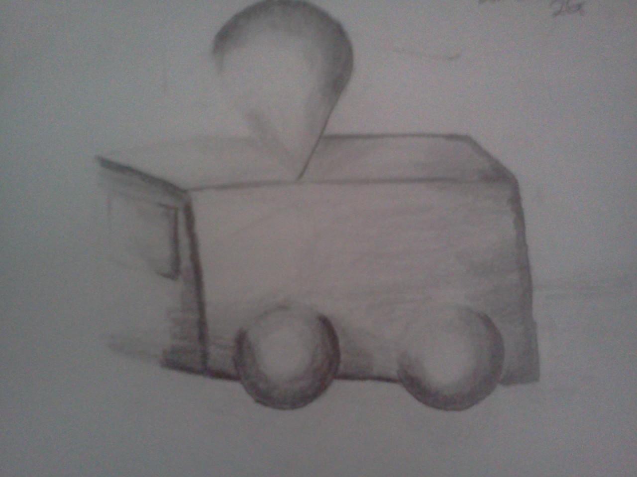 Ice-Cream Car Shading by