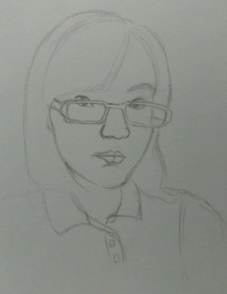 Portrait of me 2 by limshiyun1636